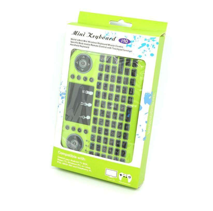 Mini Teclado I10 compatible con Smart Tv Tv Box Pc y Notebook - 3