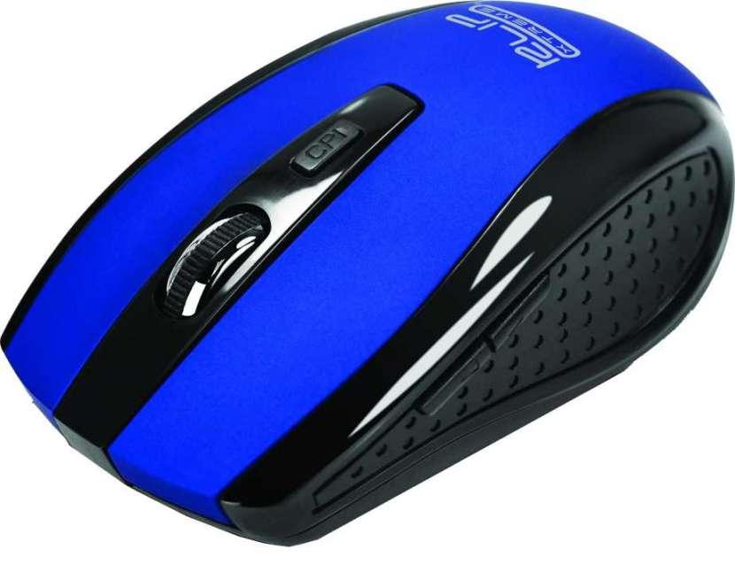 Mouse Klip w. kmw-340bl klever azul 6 botones - 1