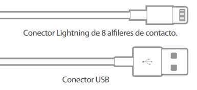 Cable klip USB Lightning KAA-005 P/IPhone 5 6 7 - 2