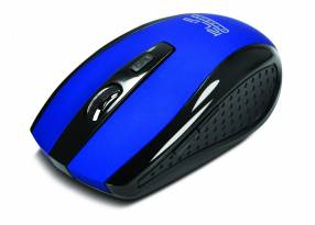 Mouse Klip w. kmw-340bl klever azul 6 botones