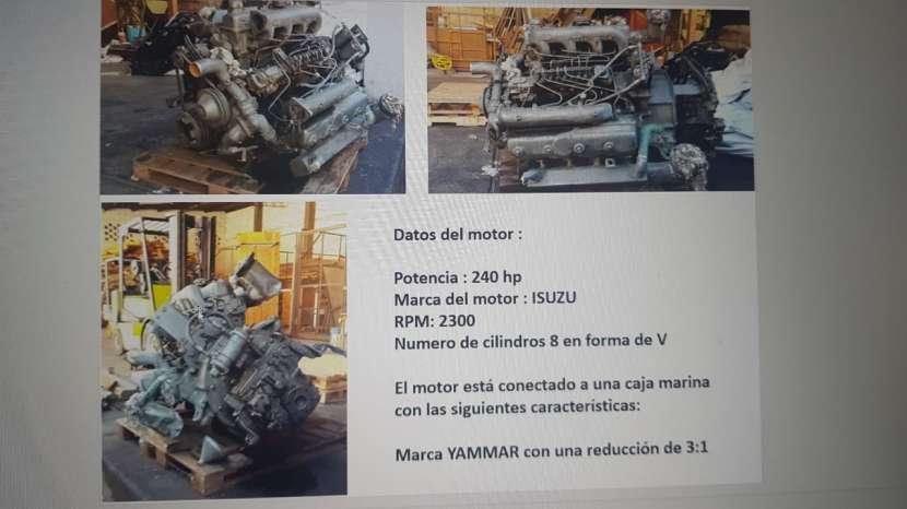 Motor Isuzu 240 HP de 2300 rpm - 0