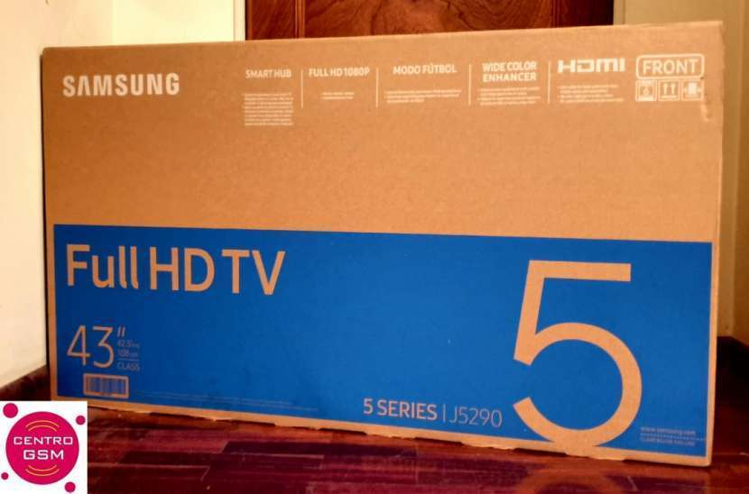Smart Tv Samsung 43 pulgadas nuevas - 0