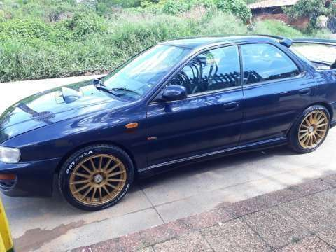 Subaru impreza wrx turbo 1998 impecable - 1