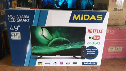 Tv Led Midas smart 49 pulgadas - 0
