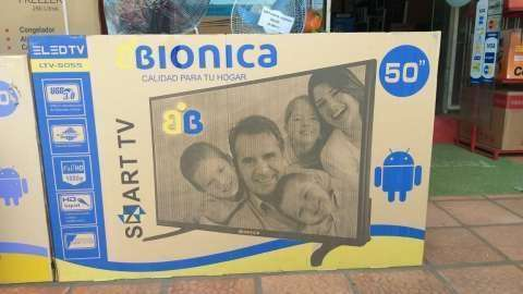 Tv Led Smart Bionica de 50 pulgadas - 0