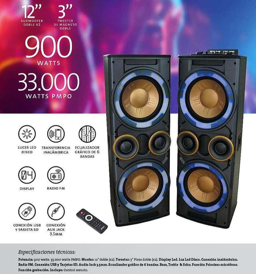 Parlante Kolke Thunder dual Pro 33.000w