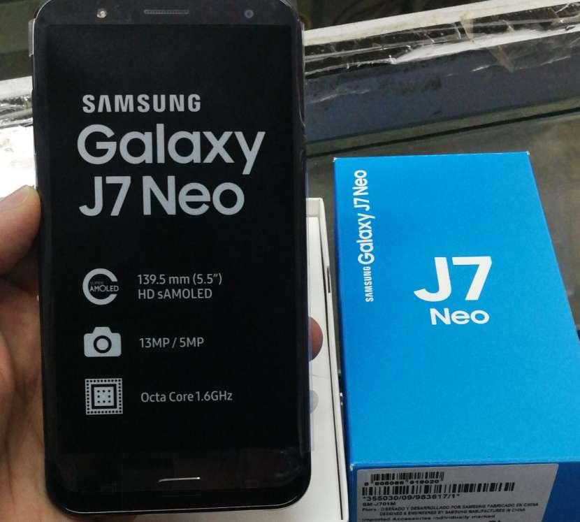 Samsung Galaxy J7 neo nuevo en caja - 0