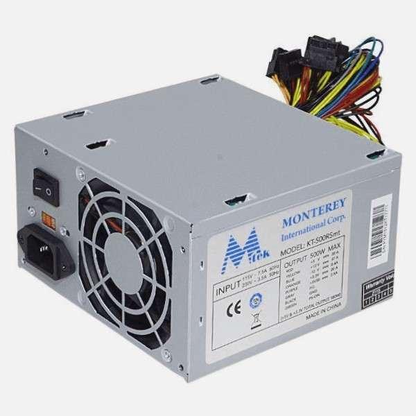Fuentes ATX MTEK 180 550 y 650 Watts