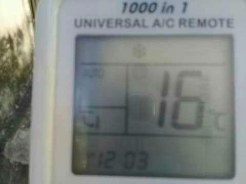 Control remoto universal de aire acondicionado - 0