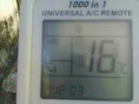 Control remoto universal de aire acondicionado