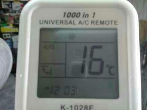 Control remoto universal de aire acondicionado - 1
