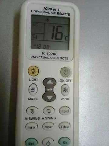 Control remoto universal de aire acondicionado - 3