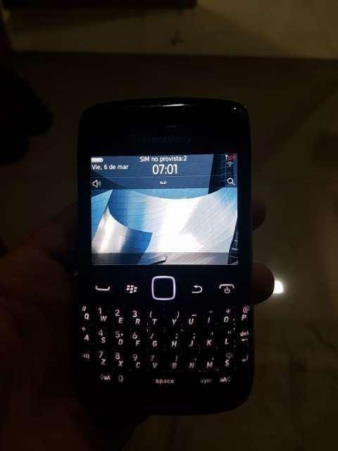BlackBerry pantalla táctil
