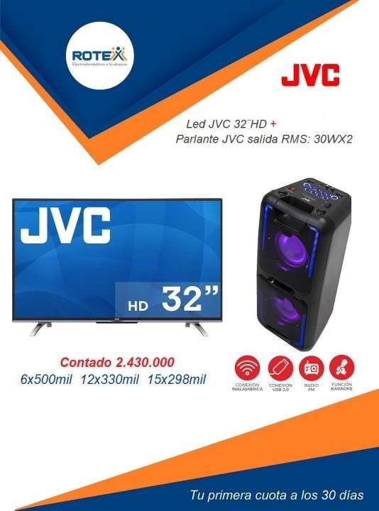 Tv led smart JVC