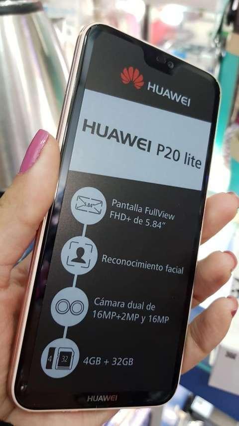 Huawei P20 Lite Rosa 32 gb - 0