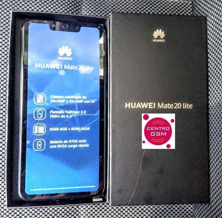 Huawei Mate 20 Lite 64 gb nuevos en caja - 0