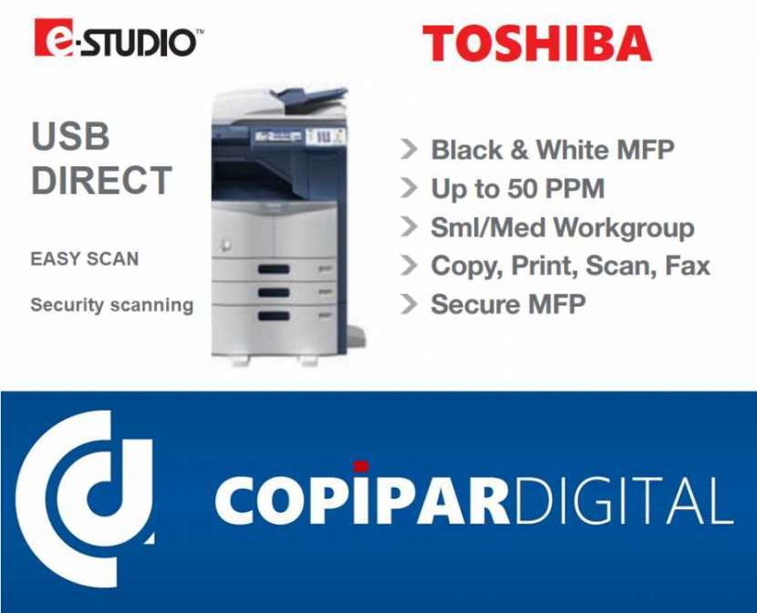 Escáner Impresora Láser Fax Fotocopiadora Toshiba - 0