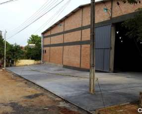 Tinglado 900 m2 cubierto Mariano Roque Alonso