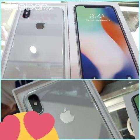 iPhone X de 64 gb nuevo en caja sellado - 0