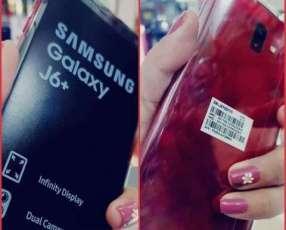 Samsung Galaxy J6+ rojo de 64 gb nuevo