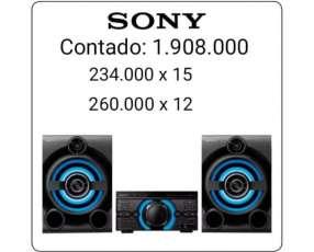 Equipo de sonido Sony MHC-M40D de 8580W
