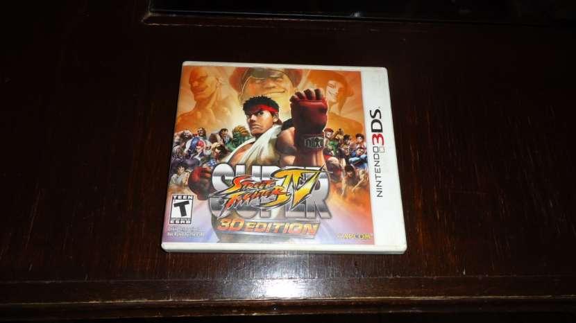 Super Street Fighter 4 Nintendo 3DS