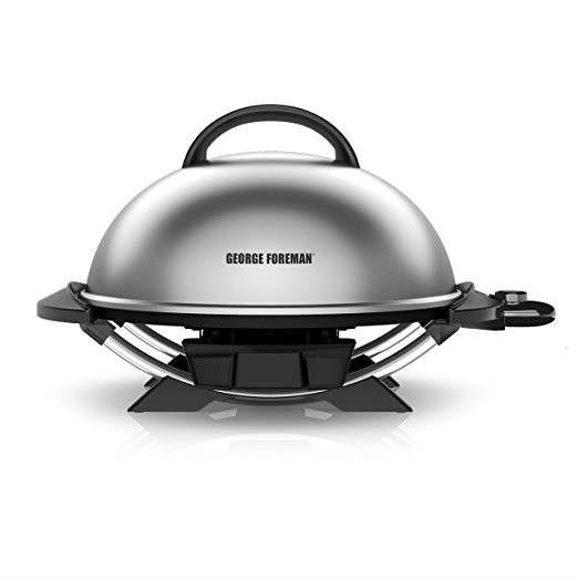 Parrilla grill George Foreman interior y exterior