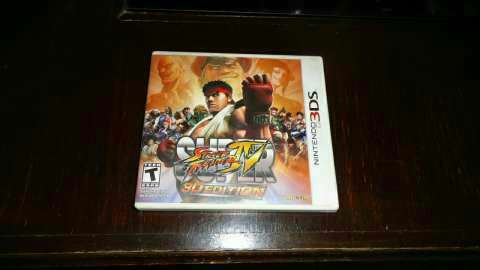 Super Street Fighter 4 Nintendo 3DS