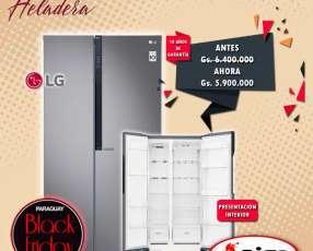 Heladera LG inverter 613 litros