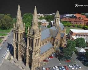 Elaboracion de cartografia digital y mapas 3D con Drone