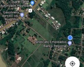 Terreno 360 m2 en barrio Chaipe de Encarnación Itapúa