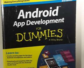Cursos de Android con 4 libros desarrollo de Apps móviles