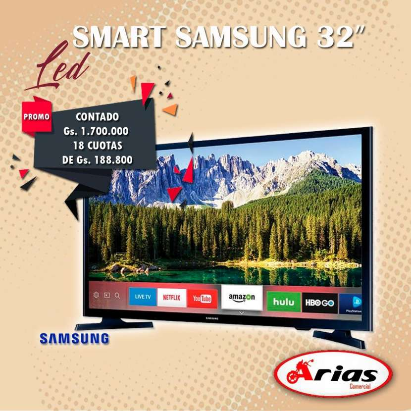 Tv led smart Samsung 32 pulgadas - 0