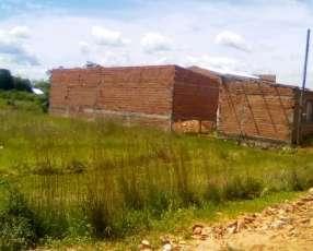 Terreno 12x40 con construcción