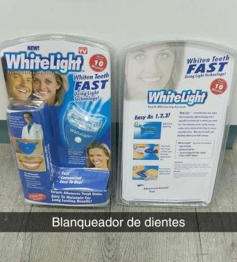 Blanqueador dental uso instantáneo