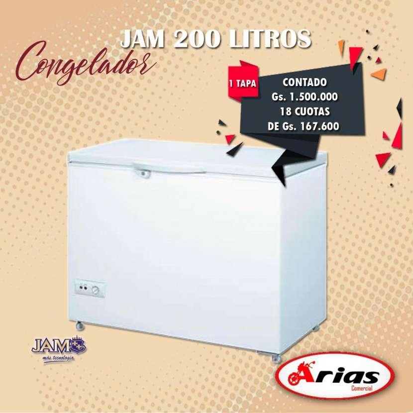 Congelador JAM 200 litros 1 tapa - 0