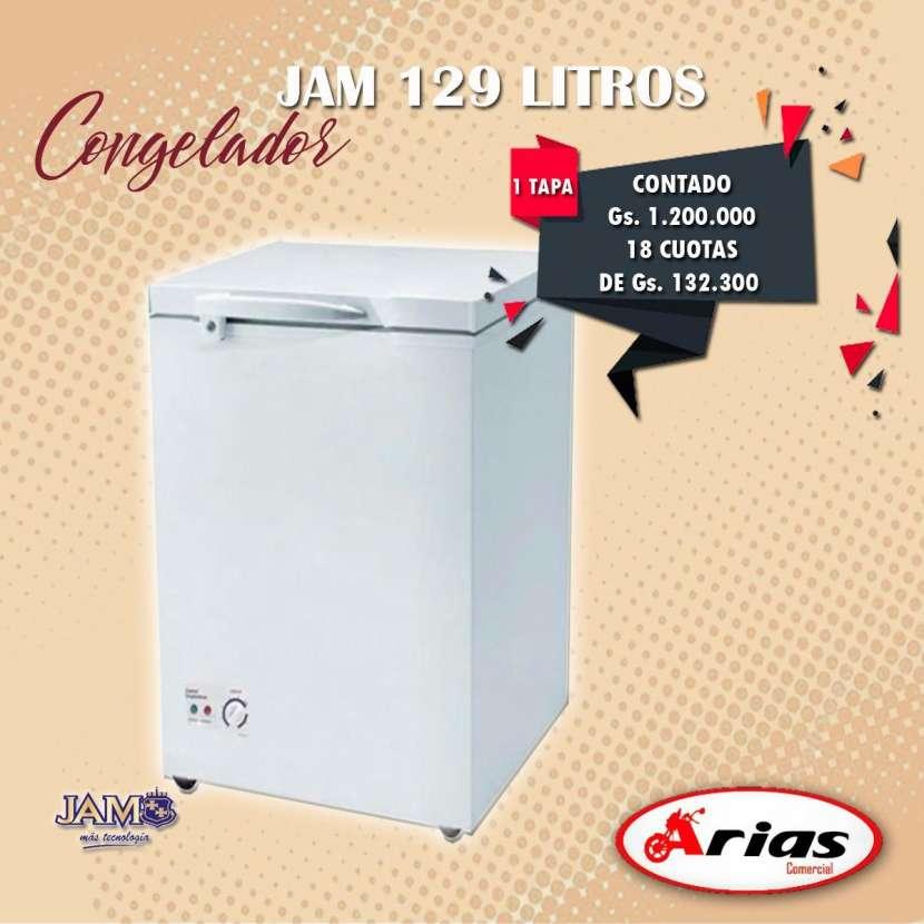 Congelador JAM 129 litros 1 tapa - 0