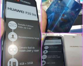 Huawei P20 Lite azul 32 gb nuevo