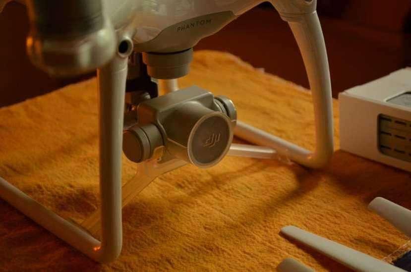 Drone DJI Phantom 4 + iPad Air - 2