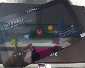 Tablet Hyundai a chip de 9 pulgadas con estuche libro de regalo