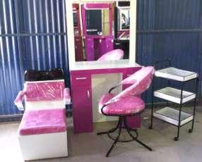 Muebles peluqueria en cuotas