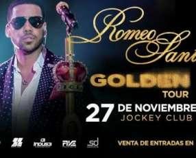 Entrada concierto Romeo Santos