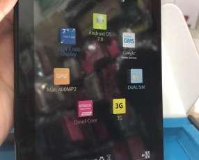 Tablet Hyundai a chip nuevo y estuche