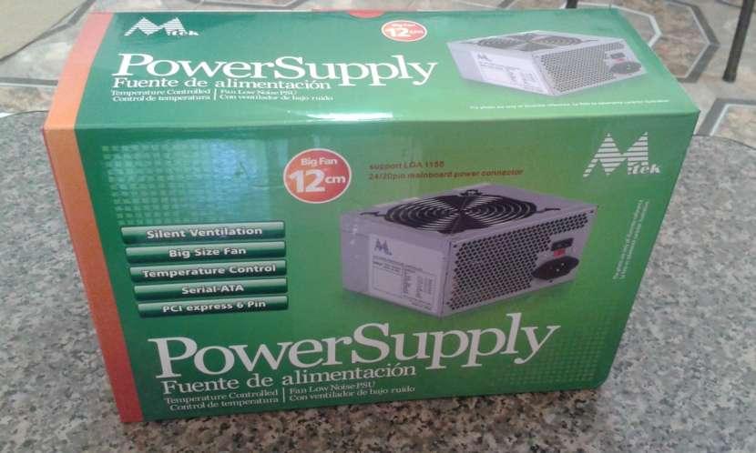 Fuente para pc Mtek 550 watts