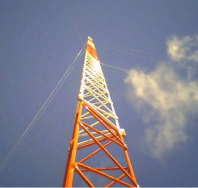 Tramo de torre para antena