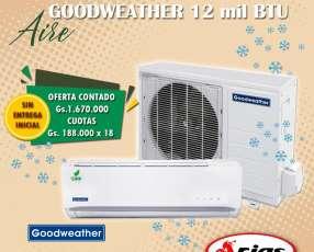 Aire split Goodweather de 12.000 btu