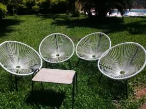 Juego sillones parabólica
