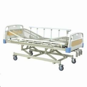 Cama hospitalaria con colchón