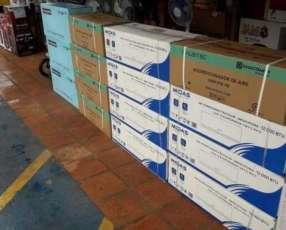 Aires acondicionados de todas las marcas de 12.000 y 18.000 btu