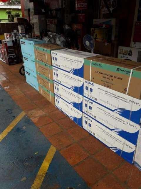 Aires acondicionados de todas las marcas de 12.000 y 18.000 btu - 0